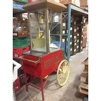 toronto party rental - popcorn cart