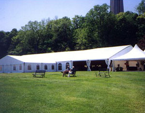 party clear span tent rental